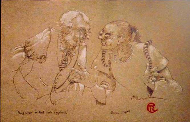 Van Eyck Drawings Van Eyck Technique of